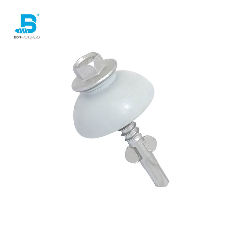 Skylight fixing Fasteners POLYXPAND™ Fixing polycarbonate sheeting to metal - BDN FASTENERS® Made in Taiwan