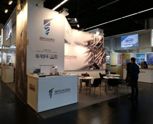 BDN Fasteners Taiwan steel screw manufacturers Demo center for 2018 Construction Exhibitions 7