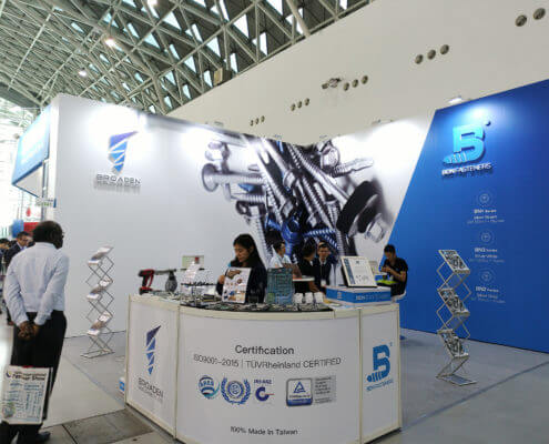 BDN Fasteners Taiwan steel screw manufacturers Demo center for 2018 Construction Exhibitions 3