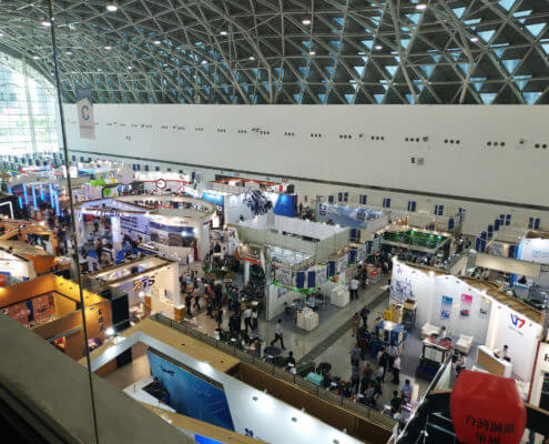 BDN Fasteners Taiwan steel screw manufacturers Demo center for 2018 Construction Exhibitions 2