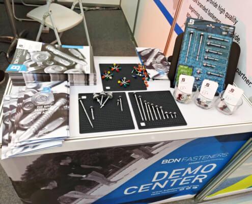 BDN Fasteners tek screw manufacturer CAMBUILD 2019 Construction Expo demo center 17