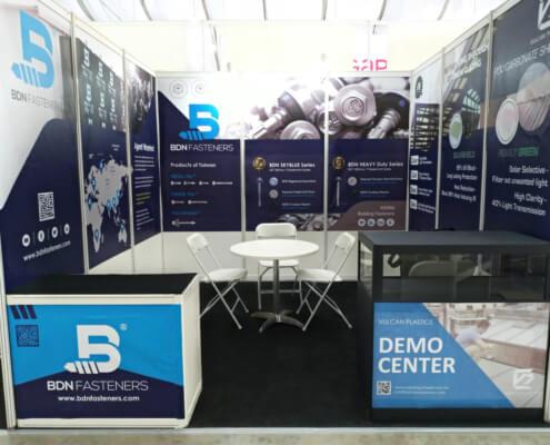 BDN Fasteners self drilling metal screws Demo Center 2018 Exhibition 8