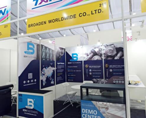 BDN Fasteners self drilling metal screws Demo Center 2018 Exhibition 3