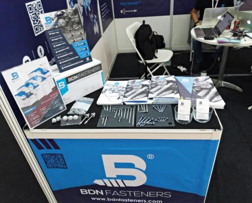 BDN Fasteners self drilling metal screws Demo Center 2018 Exhibition 7