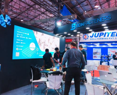 BDN Fasteners 2019 India Construction Expo Demo Center 24