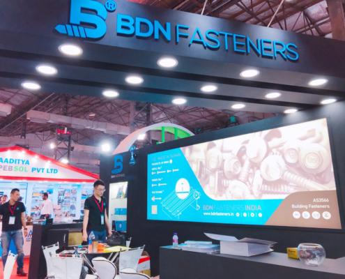 BDN Fasteners 2019 India Construction Expo Demo Center 21