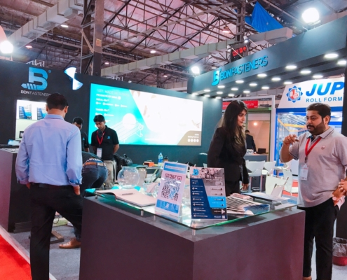 BDN Fasteners 2019 India Construction Expo Demo Center 19