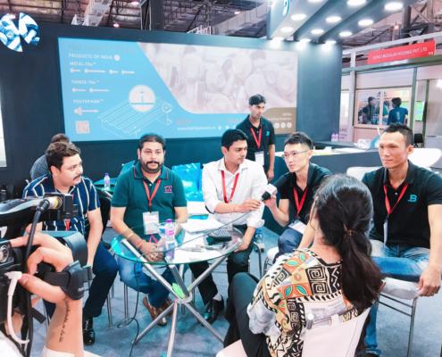 BDN Fasteners 2019 India Construction Expo Demo Center 14