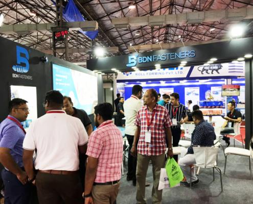 BDN Fasteners 2019 India Construction Expo Demo Center 12