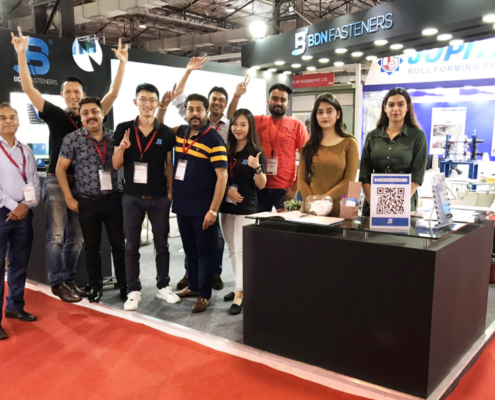 BDN Fasteners 2019 India Construction Expo Demo Center 10