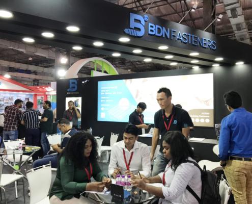 BDN Fasteners 2019 India Construction Expo Demo Center 6