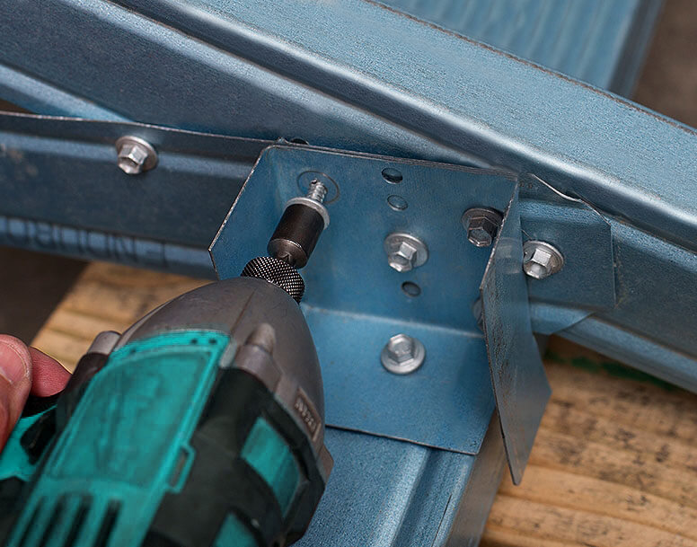 Steel Frame Housing Screws - Truss to plate connection fasteners