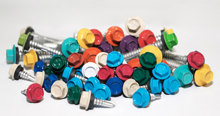 Colored Roofing Screw