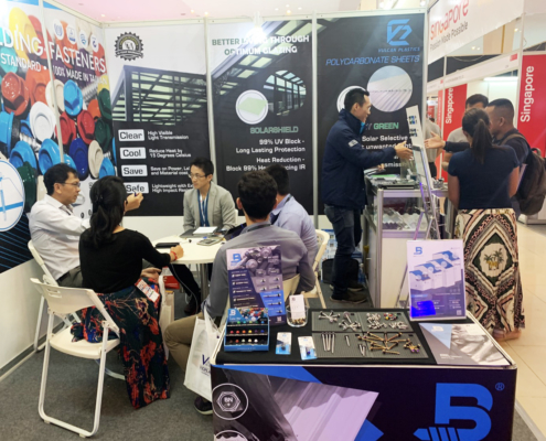 BDN Fasteners tek screw manufacturer CAMBUILD 2019 Construction Expo demo center 5