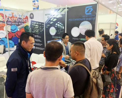 BDN Fasteners tek screw manufacturer CAMBUILD 2019 Construction Expo demo center 4