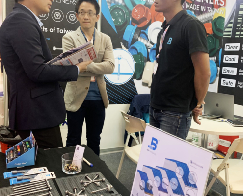 BDN Fasteners tek screw manufacturer CAMBUILD 2019 Construction Expo demo center 3