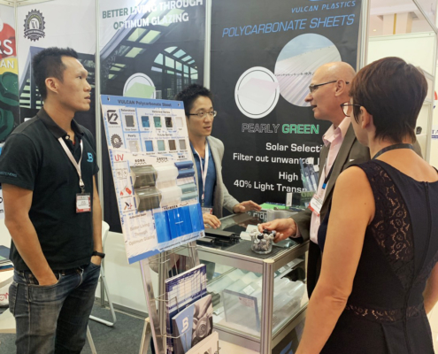 BDN Fasteners tek screw manufacturer CAMBUILD 2019 Construction Expo demo center 2