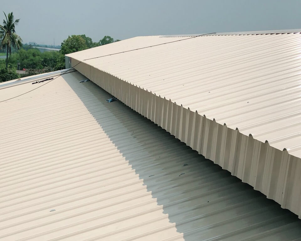 Metal Roofing Project. Self-Drilling Screws METAL-Tite™ Fixing cladding to metal. BDN FASTENERS®