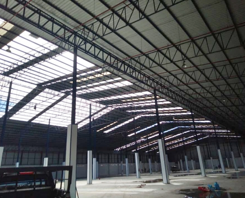 Metal Roofing Project (Thailand). BDN Fasteners® Made in Taiwan