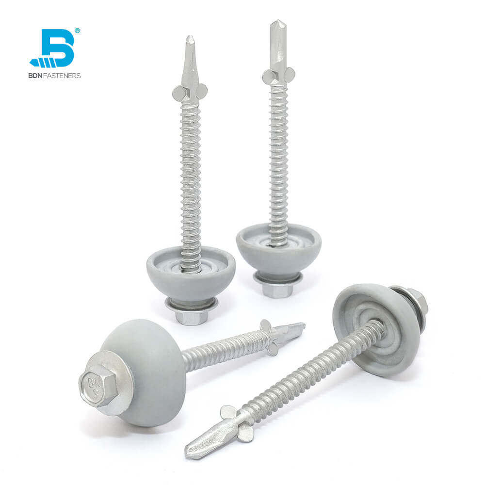 Self-Drilling Screws POLYXPAND™ Fixing polycarbonate sheeting to metal - BDN Fasteners® Made in Taiwan