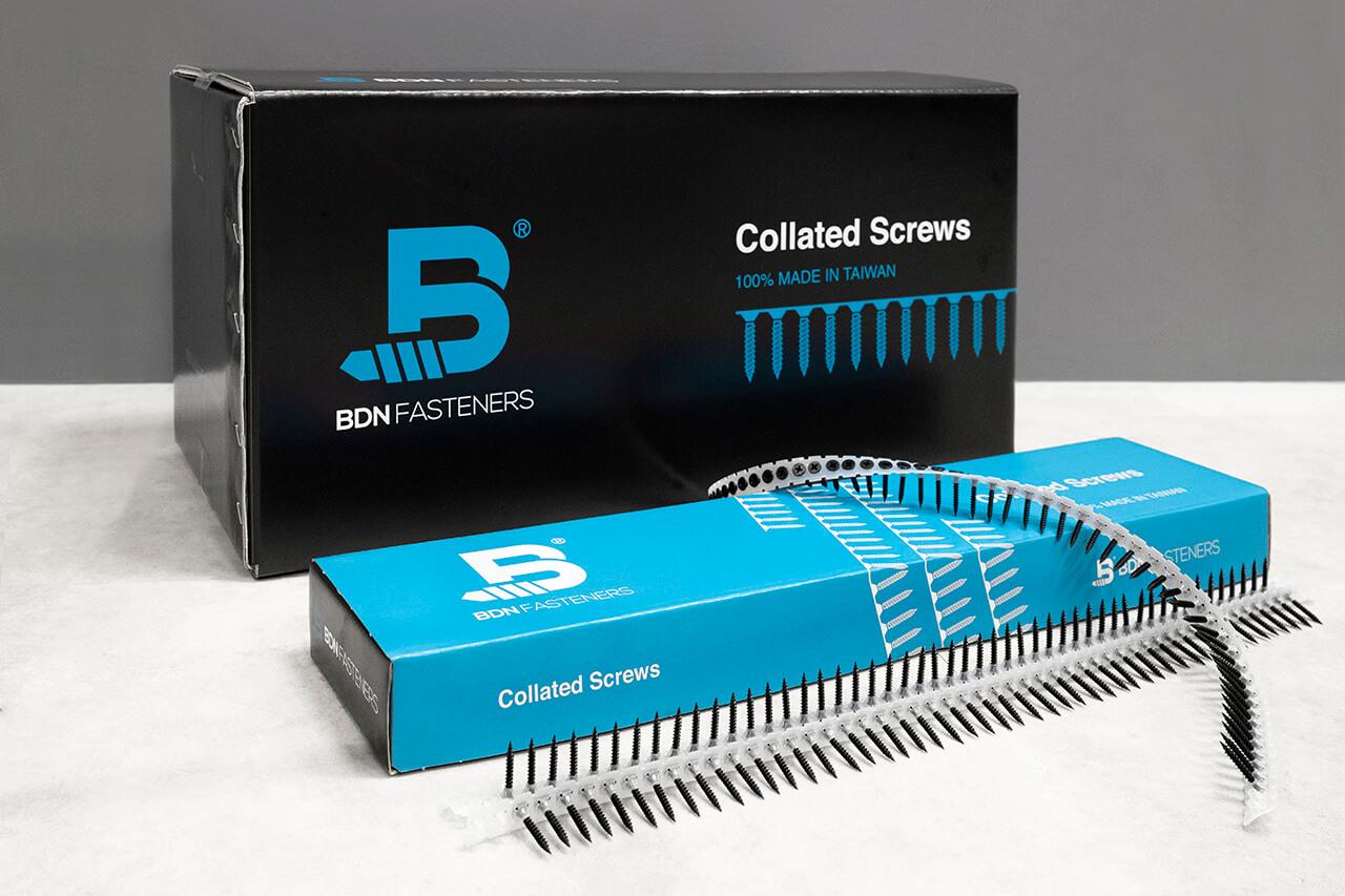 BDN collated screws - autofeed screws (drywall screws)