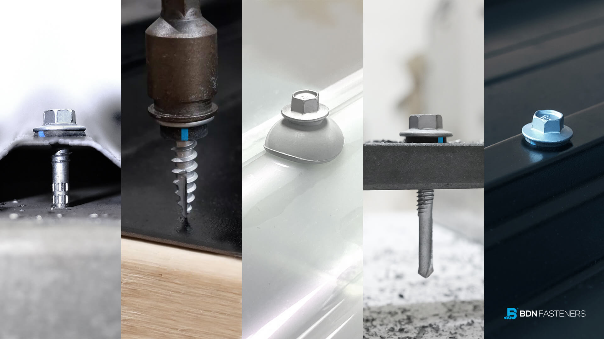 How to choose screws for metal roof installation properly?